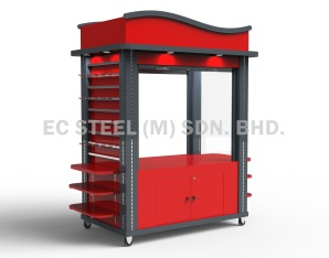 Accessories-Display-Kiosk-displaycart-KS-22331
