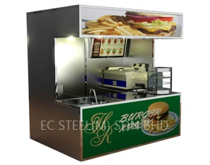 Burger Food Kiosk KS-11585